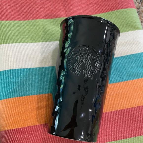 Starbucks Black Mug -NO LID - Used/ Like New